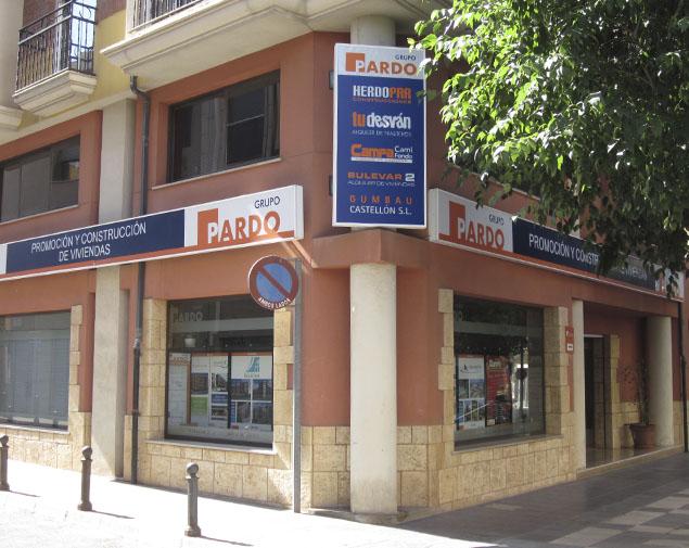 Alquiler de trasteros en Castellón Grupo Pardo